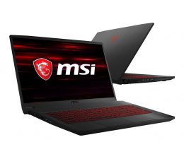MSI GF75 i7-8750H/8GB/120+1TB GTX1050Ti (Thin | GF75 8RD-046XPL-120SSD M.2)