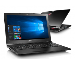 MSI GL62M i7-7700HQ/8GB/1TB+120SSD/Win10X GTX1050 (GL62M 7RD-043XPL-120SSD M.2 )