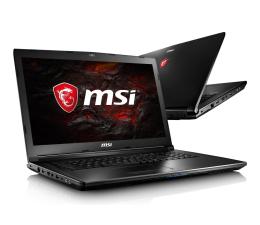 MSI GL72 i7-7700HQ/16GB/1TB+256SSD GTX1050 FHD  (GL72 7RD-021XPL-256SSD M.2 )