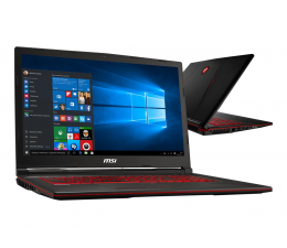 MSI GL73 i7-8750H/16GB/480+1TB/Win10X GTX1650  (GL73 8SC-003XPL-480SSD M.2)