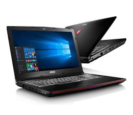 MSI GP62 i7-7700HQ/16GB/1TB+128SSD/Win10 GTX1050 (Leopard   GP62 7RD-612PL )
