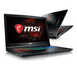MSI GP72 i7-7700HQ/16GB/1TB GTX1050Ti 120Hz (GP72M 7REX-872XPL/1262XPL)