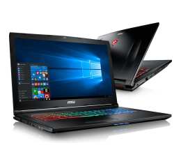 MSI GP72 i7-7700HQ/16GB/1TB+240/Win10X GTX1050Ti 120Hz (GP72M 7REX-872XPL/1262XPL-240SSD M.2 )