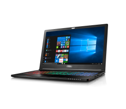 MSI GS63 i7-7700HQ/16/1TB+128PCIe/Win10 GTX1050Ti IPS (Stealth Pro | GS63 7RE-022PL)