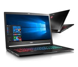 MSI GS73VR i7/16/2TB+256PCIe/Win10 GTX1060 120Hz (Stealth Pro   GS73VR 7RF-402PL)