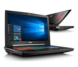 MSI GT73VR i7-7820HK/32/1TB+256PCIe/Win10 GTX1080 IPS (Titan Pro 4K | GT73VR 7RF-290PL)