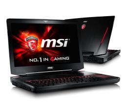 MSI GT80S Titan SLI i7-6920HQ/32/512+1000 GTX980M SLI (GT80S 6QF-071PL)