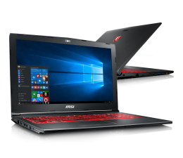 MSI GV62 i5-7300HQ/16GB/1TB+256SSD/Win10 MX150  (GV62 7RC-065PL-256SSD M.2 )