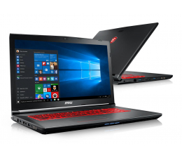 MSI GV72 i7-8750H/32GB/240+1TB/Win10X GTX1060 120Hz  (GV72 8RE-053XPL-240SSD M.2)