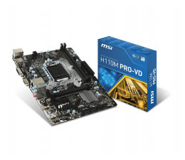 MSI H110M PRO-VD (PCI-E DDR4)