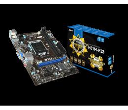 MSI H81M-E33 (H81 PCI-E DDR3)