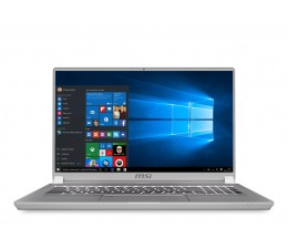 MSI P75 i9-9880H/32GB/2*512GB/Win10 (Creator| P75 9SF-803PL)