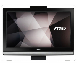 MSI Pro 22T N3160/4GB/1000/DVD-RW FHD czarny (Pro 22ET 4BW-021XEU)
