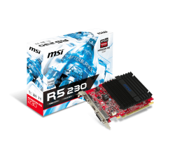 MSI Radeon R5 230 1GB DDR3 (R5 230 1GD3H LP)