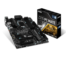 MSI Z270 PC MATE (3xPCI-E DDR4 USB3.1/M.2)
