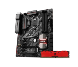 MSI Z270 TOMAHAWK + 8GB 3000MHz IRDM X CL16 Red