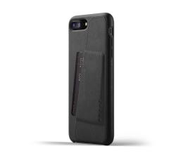 Mujjo Full Leather Wallet do iPhone 7/8 Plus Czarny (MUJJO-CS-091-BK)