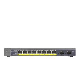 Netgear 10p GS110TP-200EUS (8x10/100/1000Mbit 2xSFP PoE)