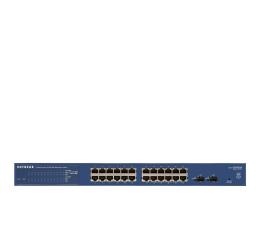 Netgear 26p GS724T (24x10/100/1000Mbit 2xSFP) (GS724T-400EUS / GS724Tv4)