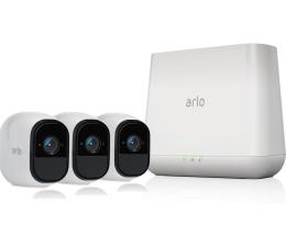 Netgear Arlo PRO 2 WiFi FullHD IR (3szt. + stacja alarm.)  (VMS4330P-100EUS)