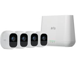 Netgear Arlo PRO 2 WiFi FullHD IR (4szt. + stacja alarm.) (VMS4430P-100EUS)