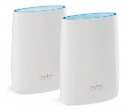 Netgear Orbi WiFi System (2200Mb/s a/b/g/n/ac)  (RBK20-100PES MU-MIMO Tri-Band AC )