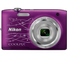 Nikon Coolpix A100 fioletowy z ornamentem (VNA974E1)
