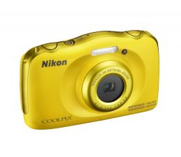 Nikon Coolpix W100 żółty + plecak  (VQA013K001)