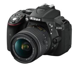 Nikon D5300 + AF-P 18-55mm VR + torba + karta 16GB  (VBA370K017)