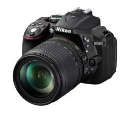Nikon D5300 czarny + 18-105VR + torba + karta 16GB   (VBA370K018)