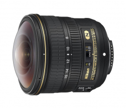Nikon Nikkor Fish-Eye AF-S 8-15mm f/3.5-4.5E ED (JAA831DA)