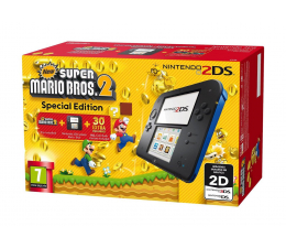 Nintendo 2DS Black + New super Mario Bros 2 (045496502492 )