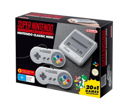 Nintendo Classic Mini: SNES 2xPAD + 21 GIER (NICH015)