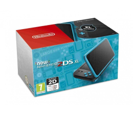 Nintendo New 2DS XL Black & Turquoise (045496504533)