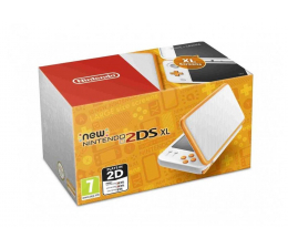 Nintendo New 2DS XL White & Orange (045496504564)