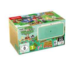 Nintendo NEW NINTENDO 2DS XL ANIMAL CROSSING EDITION (045496504830 )