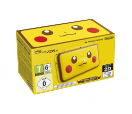 Nintendo New Nintendo 2DS XL Pikachu Edition  (045496504700 )