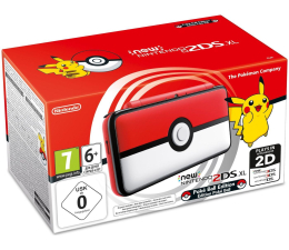 Nintendo New Nintendo 2DS XL Pokeball Edition (045496504670 )