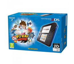 Nintendo NINTENDO 2DS BLACK & BLUE + YO-KAI WATCH (NI3H911)