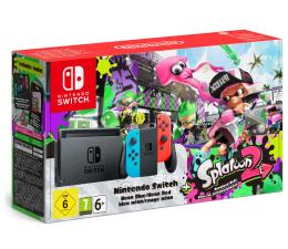 Nintendo Switch Neon Joy-Con + Splatoon 2 (045496452346)