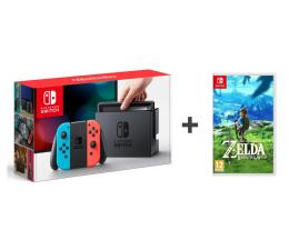 Nintendo Switch Red-Blue Joy-Con + Legend of Zelda BoTW  (NSH005)