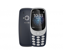 Nokia 3310 Dual SIM granatowy (TA-1030 NV PL DK_BLUE)