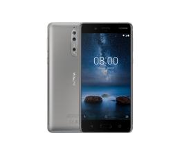 Nokia 8 Dual SIM szary (TA-1004 DS STEEL)