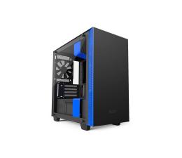 NZXT H400i matowa czarno-niebieska USB 3.1 (CA-H400W-BL)