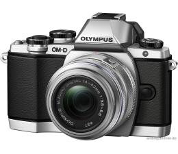 Olympus E-M10 Mark II srebrny + EZ-M 14-42 EZ  (V207051SE000)