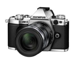 Olympus OM-D E-M5 II srebrny + EZ-M 12-50 mm  (V207042SE000)