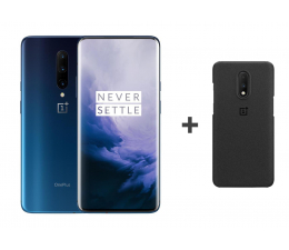OnePlus 7 Pro 12/256GB DS Nebula Blue + Sandstone Case (5011100649 + 5431100075)