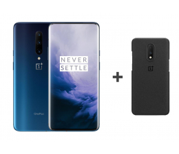 OnePlus 7 Pro 8/256GB DS Nebula Blue + Sandstone Case (5011100648 + 5431100075)