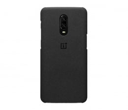 OnePlus Sandstone Protective Case do OnePlus 6t czarny  (5431100063 )