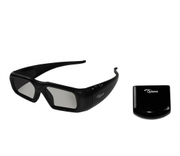 Optoma Okulary 3D ZF2300 bezprzewodowe  z emiterem RF  (E1A3E0000004)
